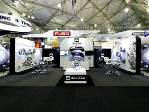 Alcoa Brisbane Truck Show Signage
