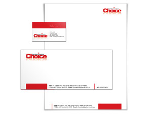 Choice Building Logo & Stationery