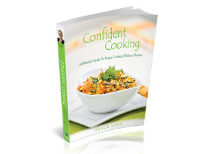 Confident Cooking Cookbook Cover