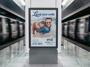 Cornerstone Dental Billboard