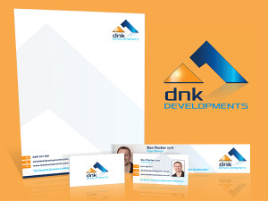 DNK Developments Logo & Stationery
