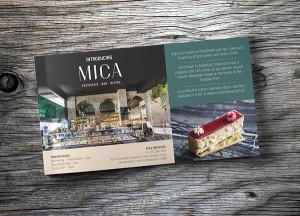 MICA Brasserie Village News Ad