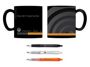 Murdifications Mug & Pen