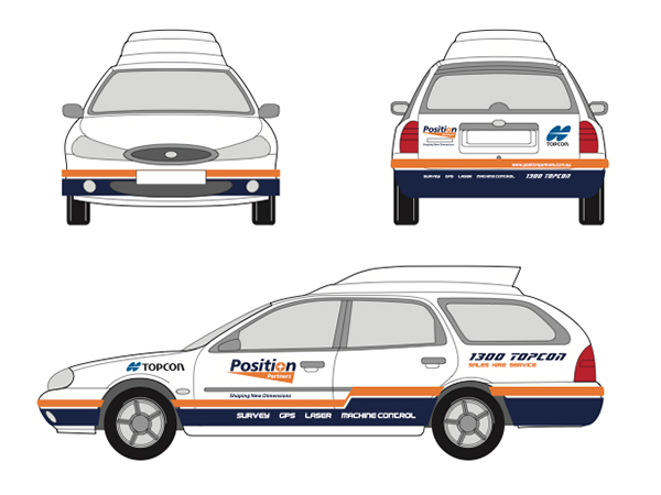Position Partners Car Wrap
