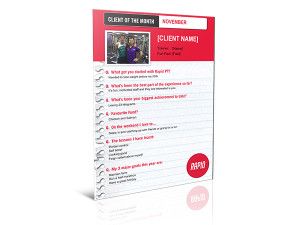 Rapid Personal Training Word Template